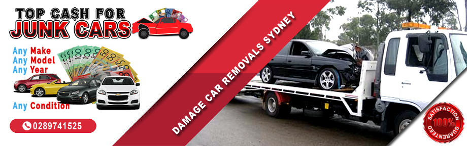 Damage Car Removals Sydney