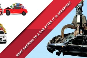 What happens to a car after it is scrapped?